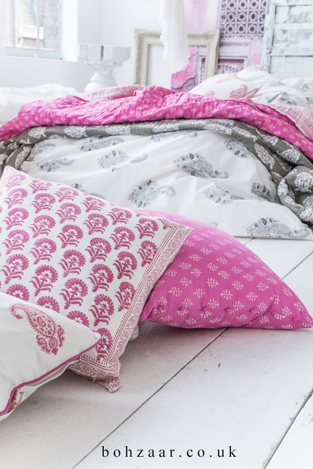 Sundara duvet set with Harmony Quilt