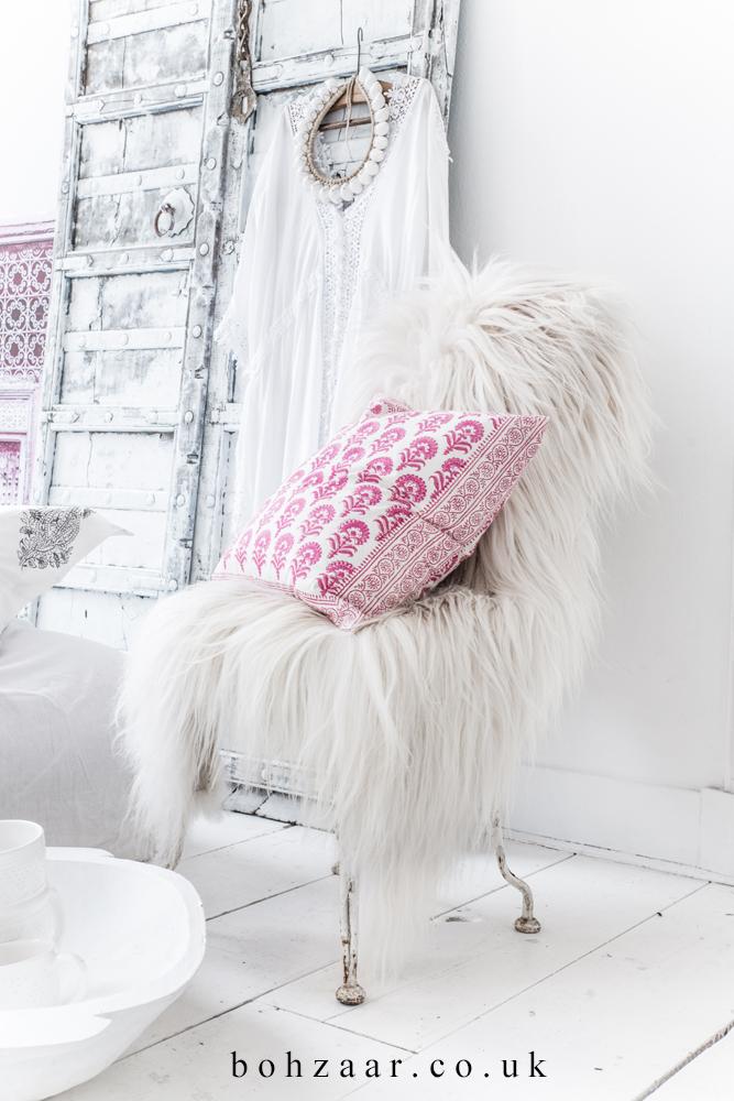 New Asha cushion from Bohzaar