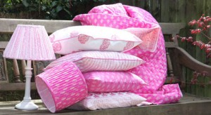 Boho cushions and quilt from Bohzaar