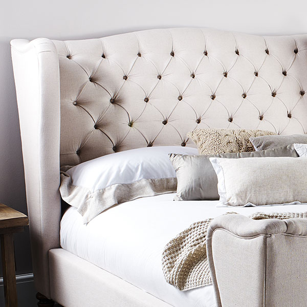 Wiltshire High end Upholstered bed by Barker and Stonehouse