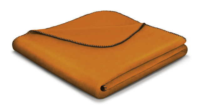 Mustard Orange Blanket