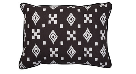 Nomads Altai Multi Motif White on black