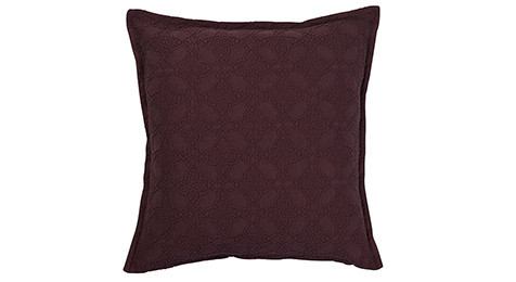 Zantine Deep Plum Cushion