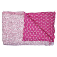 Harmony Quilt Fuchsia pink