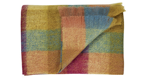 Perfect Delight Mohair Throw by Bohzaar