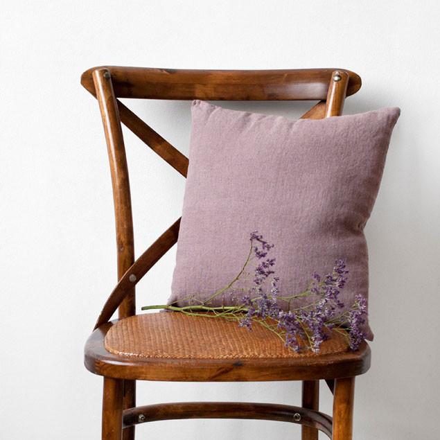 Linen Cushion A Rose: A Rose colour Linen cushion