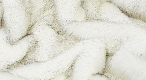 Alaska Faux Fur Throw