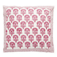 Asha Cushion- Fuchsia Flower