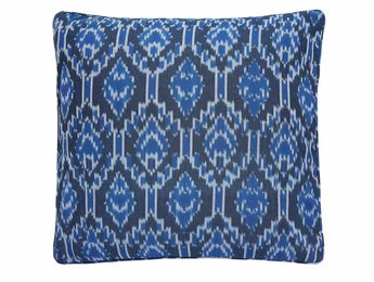 Ikat Blue  Nomads cushion