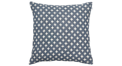 Cadi Linen Cushion Blue