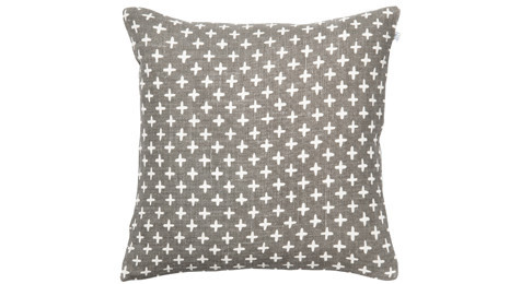 Cadi Linen Cushion Gray