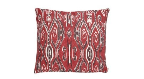 Ikat Madras Red