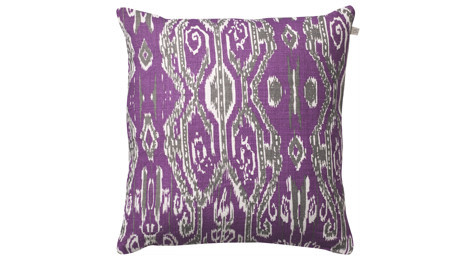 Ikat Madras Purple