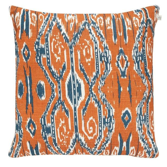 Ikat Madras Orange (40x60)