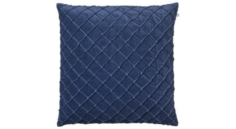 Deva Velvet Cushion Blue