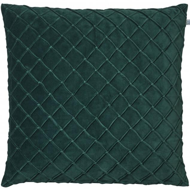 Deva Velvet Cushion Green: Deva Velvet Cushion Green