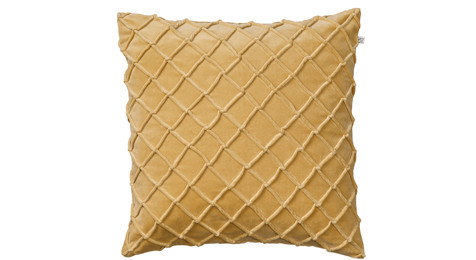 Deva Velvet Cushion Spicy Yellow