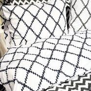 Ikat Kerela - Grey Duvet Set