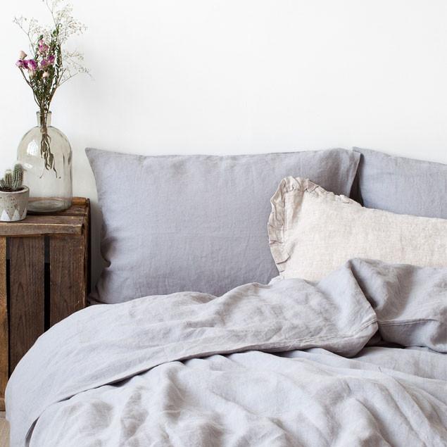 duvet cover light grey. Black Bedroom Furniture Sets. Home Design Ideas