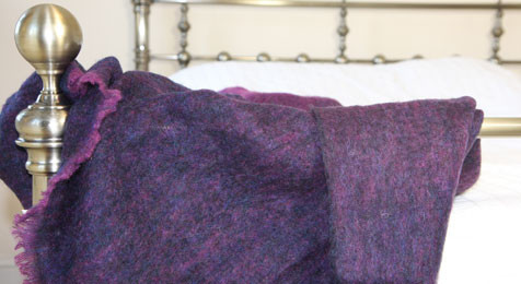 Grapeberry Throw