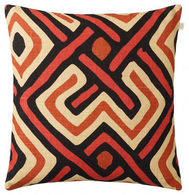 Gujrat - Beige Brown Orange Red