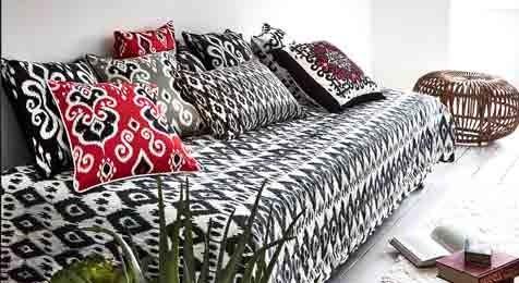 Ikat Cushions
