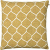 Jaal Spicy Yellow Linen Cushion : Jaal Spicy Yellow Linen Cushion
