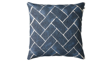 Jay Blue Linen Cushion