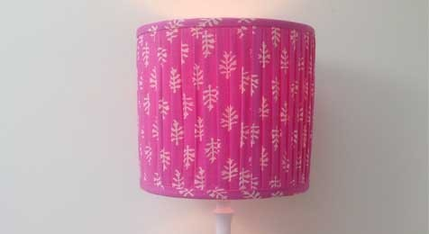 Patta Pencil Pleat Drum Lampshade
