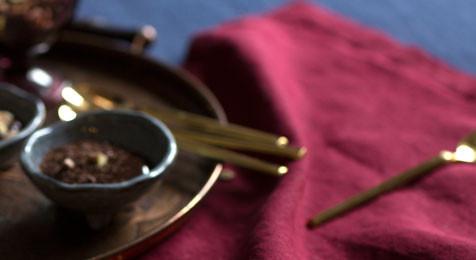 Linen Napkins Burgundy