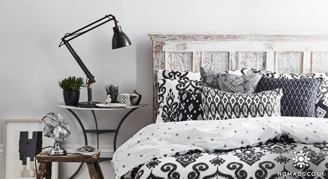 Panthera Ikat Bedding from NomadsUK