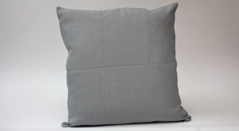 Linen Cushion Light Grey