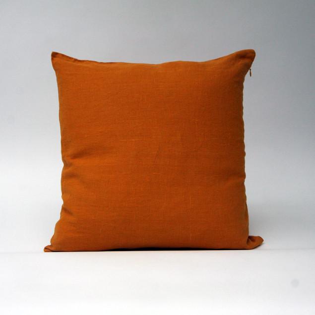 Linen Cushion Mustard: Mustard Cushion