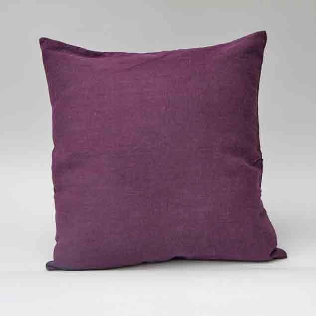Linen Cushion Deep Purple: Linen Cushion Deep Purple