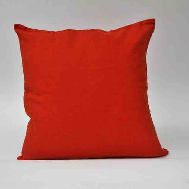 Linen Cushion Orange: Linen Cushion Orange