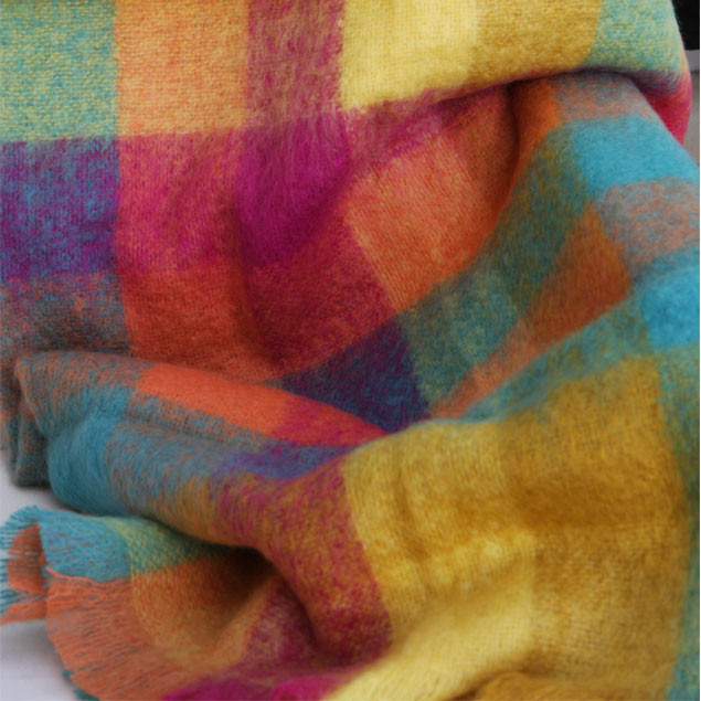Luxury Mohair Throw - Perfect Delight