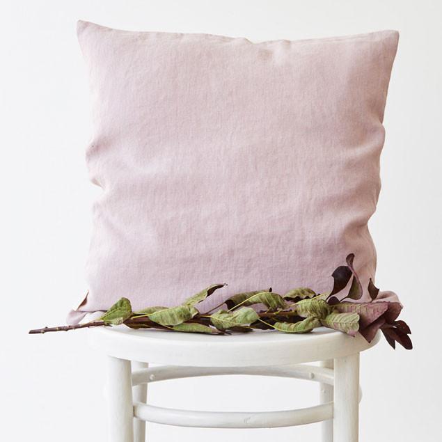 Linen Cushion Pink Lavender: Pink lavender  Linen Cushion