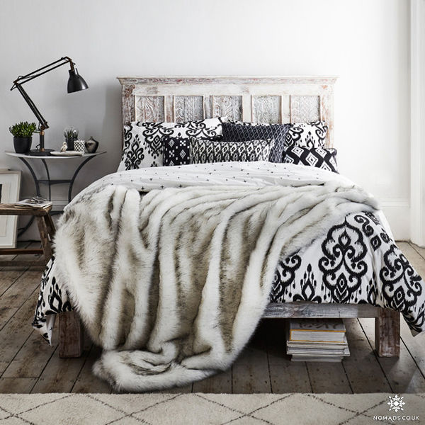 Lovely Faux Fur Duvet Cover Uk - Sweetgalas ZQ77