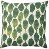 Rain Green Linen Cushion : Rain Green Linen Cushion