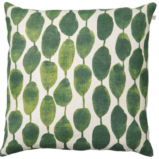 Rain Green Linen Cushion: Rain Green Linen Cushion
