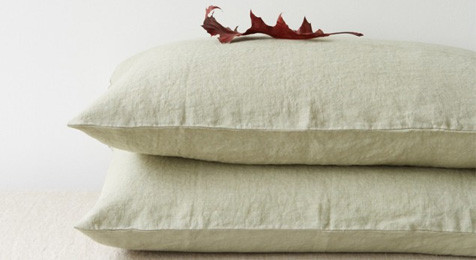 Sage Linen Pillowcase