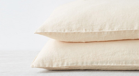 Sand Linen Pillowcase
