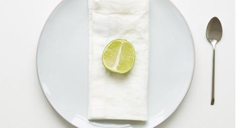 White Linen Vintage Hemstitch Napkins(pair)